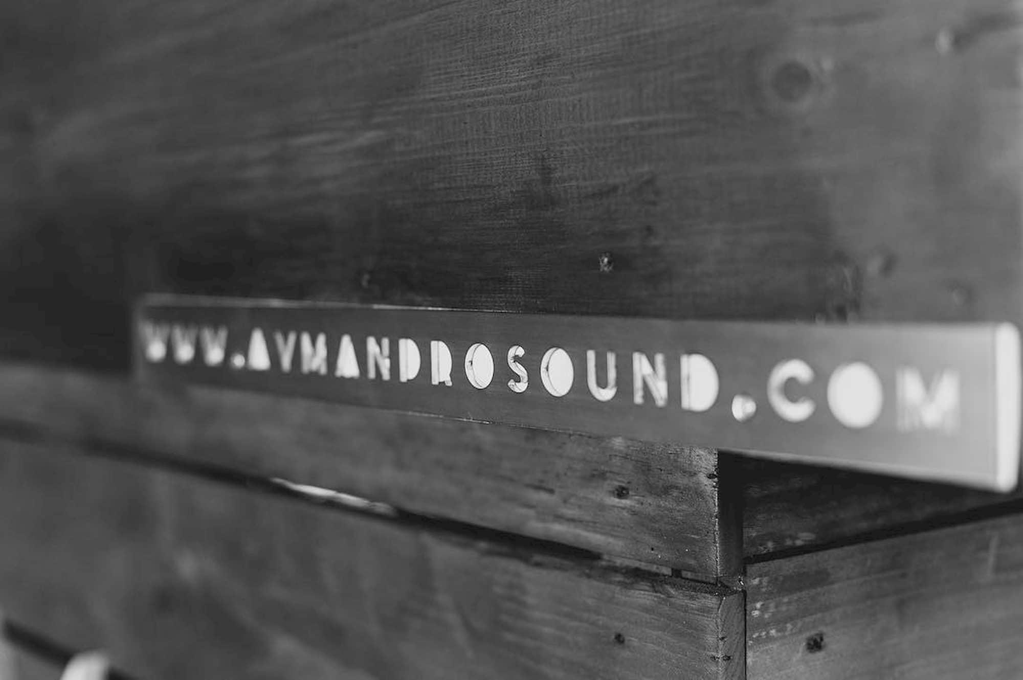 Cabina madera Ayman Prosound